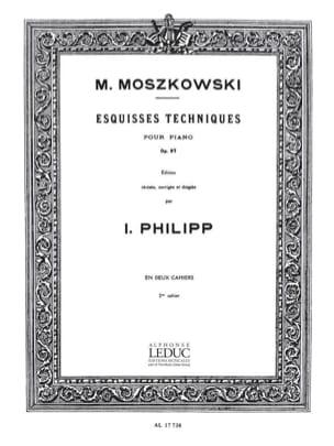 Moritz Moszkowski - Technical Sketches Opus 97 Volume 2 - Partition - di-arezzo.com