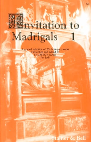 Invitation To Madrigals Volume 1 Partition Chœur - laflutedepan
