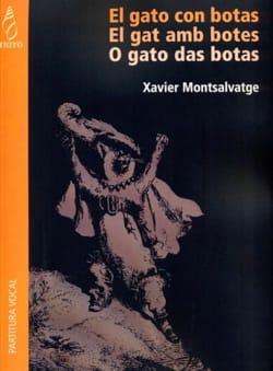 El Gato Con Botas Xavier Montsalvatge Partition Opéras - laflutedepan