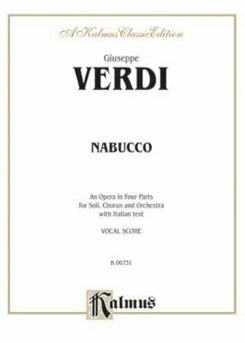 Nabucco - VERDI - Partition - Opéras - laflutedepan.com