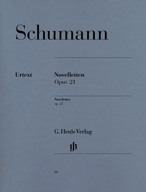 Novelettes opus 21 - SCHUMANN - Partition - Piano - laflutedepan.com