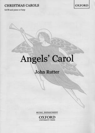 Angel's Carol. Voix mixtes RUTTER Partition Chœur - laflutedepan