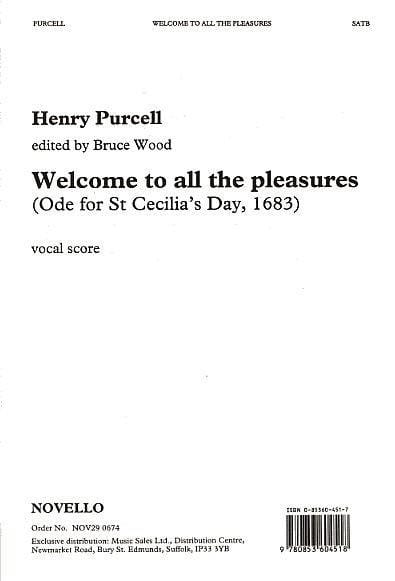 Welcome To All The Pleasures - PURCELL - Partition - laflutedepan.com