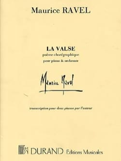 La Valse. 2 Pianos RAVEL Partition Piano - laflutedepan