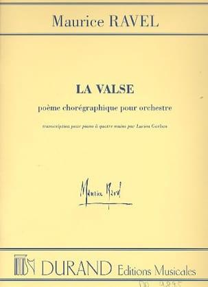 Maurice Ravel - El vals. 4 manos - Partition - di-arezzo.es