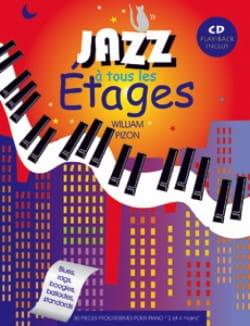 Jazz à tous les étages William Pizon Partition Piano - laflutedepan