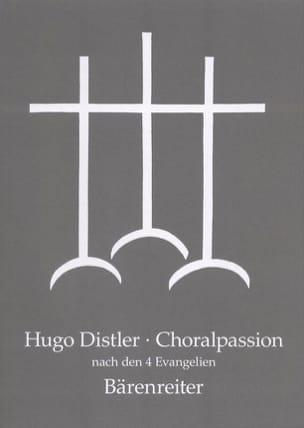 Choralpassion Nach Den Vier Evangelien Op. 7 Hugo Distler laflutedepan