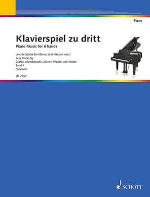 Klavierspiel zu dritt Bd 1 Partition Piano - laflutedepan