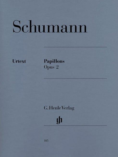 Papillons Opus 2 - SCHUMANN - Partition - Piano - laflutedepan.com