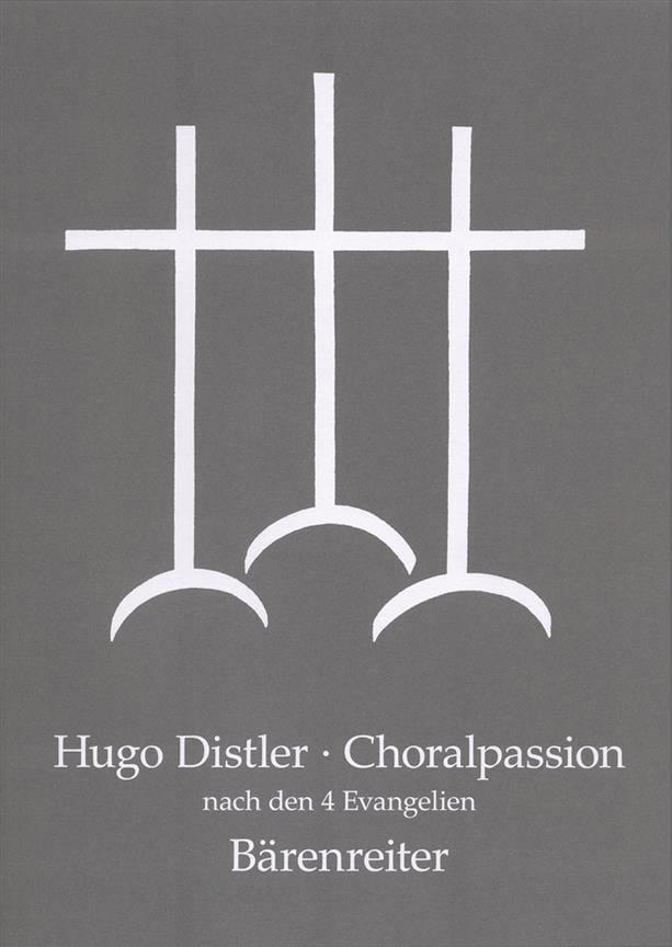 Choralpassion Nach Den Vier Evangelien Op. 7 - laflutedepan.com