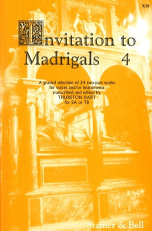 Invitation To Madrigal Volume 4 Partition Chœur - laflutedepan