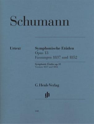 Etudes symphoniques Opus 13, versions 1837 et 1852 laflutedepan