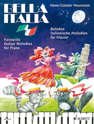 Bella Italia Hans-Günter Heumann Partition Piano - laflutedepan