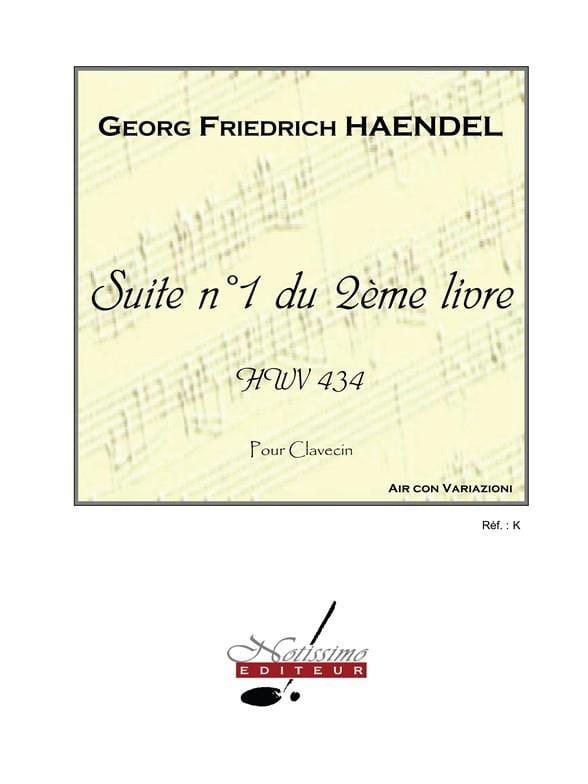 Suite n° 1 du 2ème livre HWV 434 - HAENDEL - laflutedepan.com