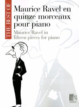 15 Morceaux pour Piano RAVEL Partition Piano - laflutedepan