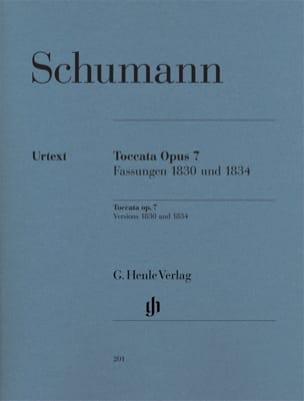 Toccata en Ut majeur Opus 7 SCHUMANN Partition Piano - laflutedepan