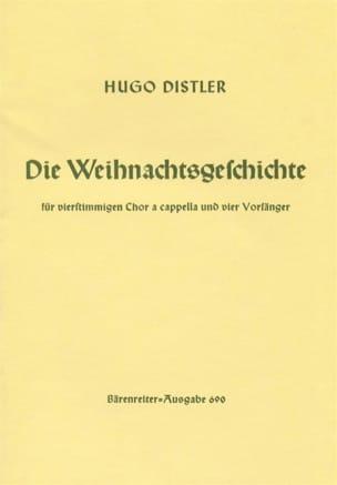 Die Weihnachtsgeschichte 1933 - Hugo Distler - laflutedepan.com