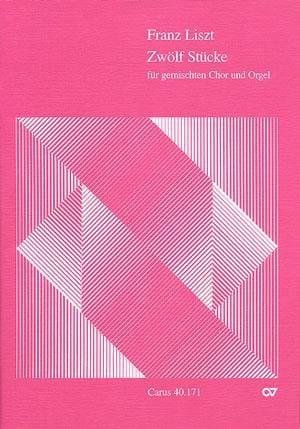 12 Stücke Für Gemischten Chor - LISZT - Partition - laflutedepan.com