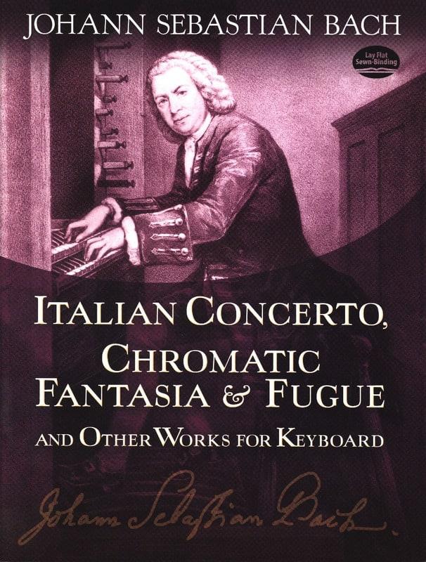 Concerto Italien, Fantaisie Chromatique et Fugue - laflutedepan.com