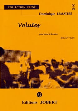 Volutes. 8 Mains Dominique Lemaitre Partition Piano - laflutedepan