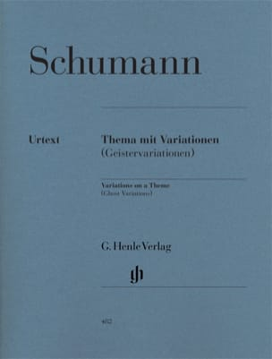 Variations sur un thème (Geistervariationen) SCHUMANN laflutedepan
