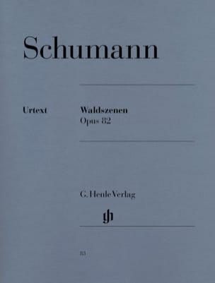 Scènes de la Forêt Opus 82 SCHUMANN Partition Piano - laflutedepan