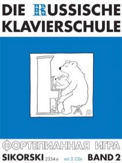 Die Russische klavierschule Volume 2 + CD - laflutedepan.com