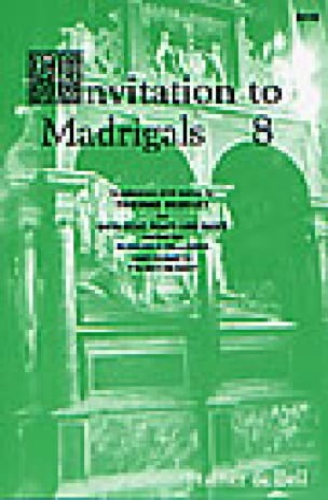 Invitation To Madrigals Volume 8 - Thomas Morley - laflutedepan.com