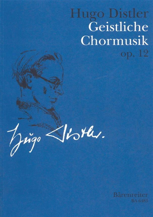 Geistliche Chormusik 1934-1942 Op. 12 - laflutedepan.com