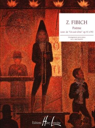 Poème Opus 41-6 Zdenek Fibich Partition Piano - laflutedepan