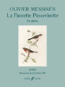 La Fauvette Passerinette - MESSIAEN - Partition - laflutedepan.com
