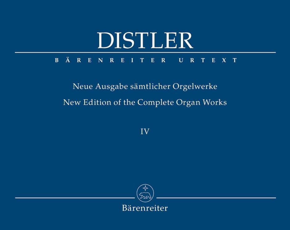 Neue Ausgabe Sämtlicher Orgelwerke Volume 4 - laflutedepan.com