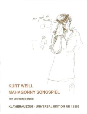 Mahagonny Songspiel WEILL Partition Opéras - laflutedepan