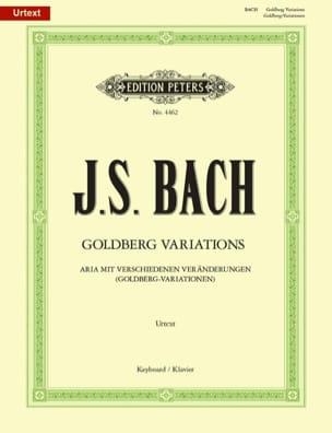 Variations Goldberg BWV 988 BACH Partition Piano - laflutedepan