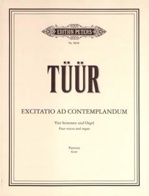 Excitatio Ad Contemplandum Erkki-Sven Tüür Partition laflutedepan