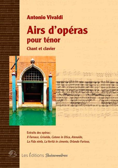Airs d'Opéras pour Ténor - VIVALDI - Partition - laflutedepan.com