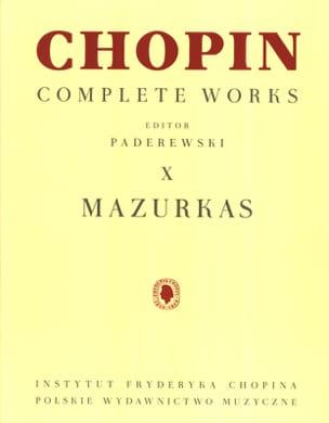 Mazurkas - CHOPIN - Partition - Piano - laflutedepan.com