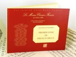 1er Livre de Pièces D'orgue DANDRIEU Partition Orgue - laflutedepan