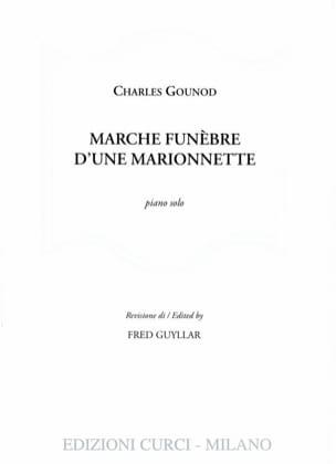 Marche funèbre d'une marionnette GOUNOD Partition Piano - laflutedepan