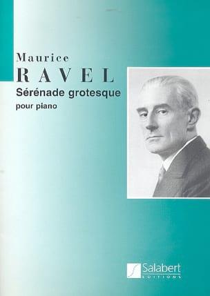 Sérénade grotesque RAVEL Partition Piano - laflutedepan