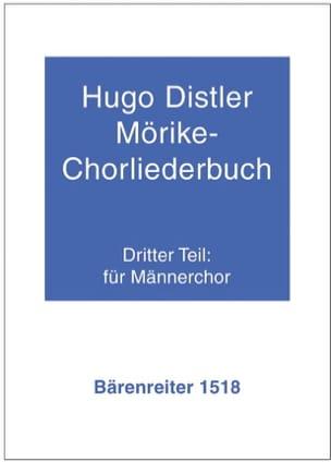 Mörike-Chorliederbuch 1938/39. Teil 3 Hugo Distler laflutedepan