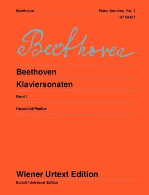 Sonates pour Piano - Volume 1 BEETHOVEN Partition Piano - laflutedepan