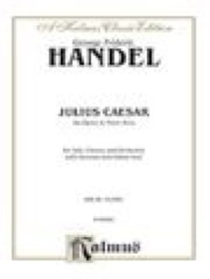 Giulio Cesare In Egitto. HWV 17 - HAENDEL - laflutedepan.com