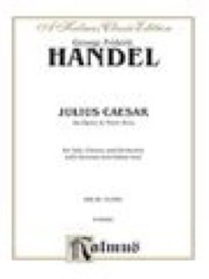 Jules César. HWV 17 - HAENDEL - Partition - Opéras - laflutedepan.com