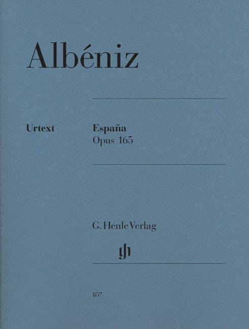 España Opus 165 - ALBENIZ - Partition - Piano - laflutedepan.com