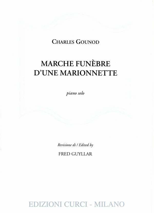 Marche funèbre d'une marionnette - GOUNOD - laflutedepan.com