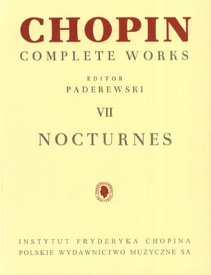 Nocturnes CHOPIN Partition Piano - laflutedepan