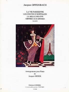 Arrangements Pour Piano OFFENBACH Partition Piano - laflutedepan