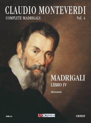 Madrigali Libro 4 MONTEVERDI Partition Chœur - laflutedepan
