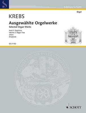 Selected organ works. Volume 2 Johann Ludwig Krebs laflutedepan